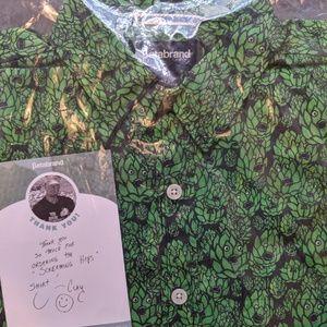 NWT BETABRAND | Screaming Hops Shirt